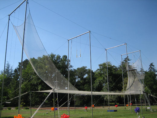 Flying trapeze - aluminum